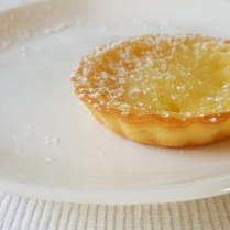 Lemon tart served at Khem Villas